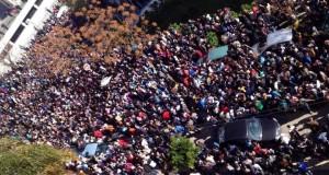 """تلاميذ طنجة يصعدون احتجاجهم ضد """"مسار"""" ووزارة التعليم في مأزق (+صور)"""