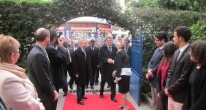 """وزير التعليم الفرنسي يزور ثانوية ابن بطوطة و""""ليسي رينو"""" بطنجة"""