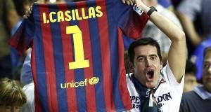 بعد الهزيمة المذلة.. جماهير برشلونة تطالب بالتعاقد مع كاسياس