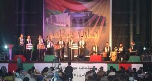 التضامن مع فلسطين وشعبها عنوان أمسية فنية بطنجة (+صور)