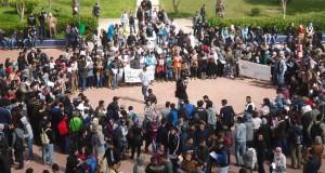 """""""الطلبة الباحثون"""" بجامعة عبد المالك السعدي يؤسسون تنسيقية للدفاع عنهم"""