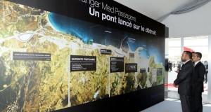 الملك يطلق مشروعين جديدين بميناء طنجة المتوسطي