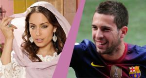 جمعتهما أحداث سبتة: هبة عبوق وجوردي آلبا موضة العشق في إسبانيا
