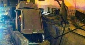 السيارة التي كانت على موعد مع الميترو