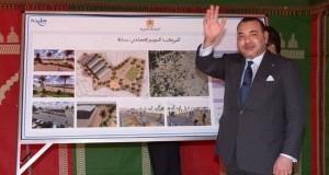 الملك يعطي انطلاقة أشغال المحطة الطرقية الجديدة لطنجة ويطلع على مشاريع اقتصادية واجتماعية
