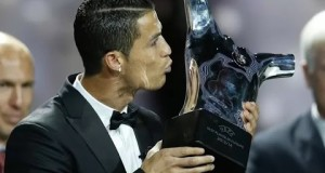 """رونالدو يتحدث عن جائزة """"الأفضل في أوروبا"""""""