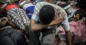 """""""حقوق الإنسان"""": فض اعتصام """"رابعة"""" بمصر جريمة ضد الإنسانية"""