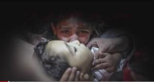 مفزع.. مجازر بحق أطفال غزة