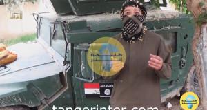 """فليم لـ""""داعش"""" يظهر شابا من طنجة يفجر نفسه في مبنى بالعراق"""