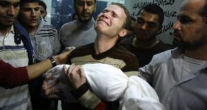 قصف جديد لإسرائيل على غزة واستشهاد طفلة رضيعة