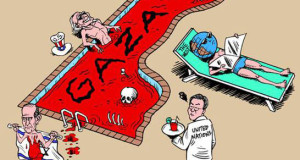 كاريكاتير.. العالم وغزة