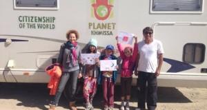 عائلة مغربية تنطلق في مغامرة مراثونية من طنجة إلى العالم بحثا عن السلام