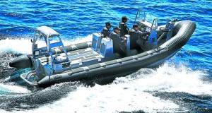 البحرية الملكية توقف سبعة مهاجرين على متن قارب قبالة سواحل سبتة
