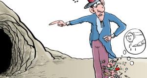 """كاريكاتير.. الحرب على """"داعش"""""""