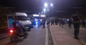 توقيف 5 أشخاص متورطين في الاعتداءت على موكب اتحاد طنجة
