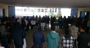 طلبة طنجة يحتجون ضد مقترح قانون مناهضة العنف بالجامعة