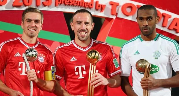 ياجور متوجا بجائزة ثالث أفضل لاعب في مونديال الأندية 2013