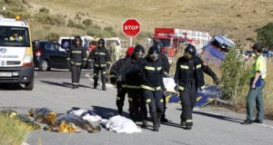 مقتل مهاجرين مغربيين في حادثة سير شمال غرب إسبانيا