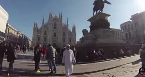 عباءة إسلامية في ميلانو