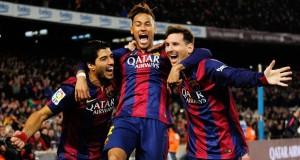 """MSN""' أفضل هجوم في تاريخ برشلونة"
