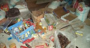 حجز حوالي 40 طنا من المواد الغذائية المهربة بالفنيدق