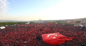تركيا تحتفل بفتح القسطنطينية وأردوغان يتعهد بالدفاع عن الأذان