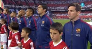 صفير ضد النشيد الوطني الإسباني في مباراة البارصا وبلباو