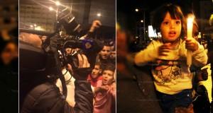 """""""ثورة الشموع"""" بطنجة تأخذ بُعدا دوليا بحضور وسائل إعلام عالمية"""