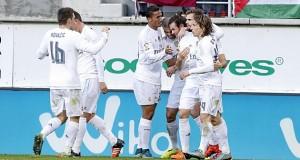 هدفا ريال مدريد في مرمى إيبار