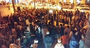 """شفشاون.. وقفة تضامنية مع """"ثورة السكاكين"""" في فلسطين"""