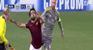 هدفا ريال مدريد في مرمى روما