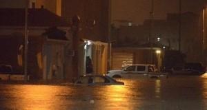 طنجة: سيارة أجرة تغرق في أمطار السبت