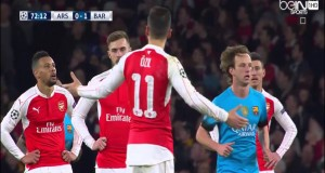 هدفا برشلونة في مرمى أرسنال