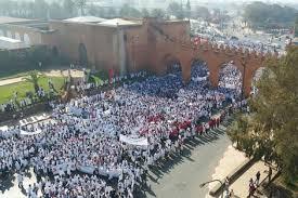 الخيام شكل جديد من أشكال احتجاج أساتذة الغد بطنجة