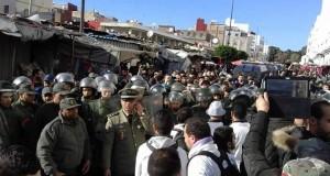 الهراوات مستمرة في مطاردة احتجاجات أساتذة الغد بطنجة