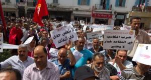 التونسيون يحتجون ضد رفع سن التقاعد إلى 65 سنة