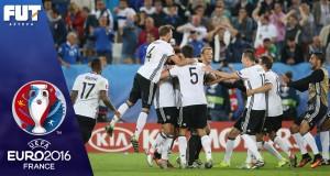 مباراة ماراثونية بين ألمانيا وإيطاليا