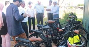 دراجات كهربائية في شفشاون حفاظا على البيئة