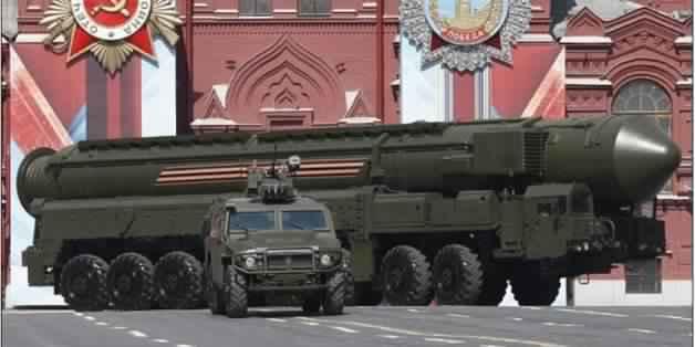 روسيا ترعب العالم باستعراضها لصاروخها النووي الضخم القادر على تدمير دولة بحجم فرنسا