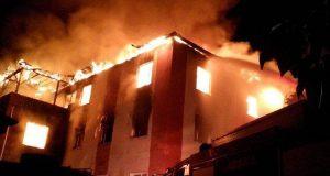 تركيا.. 12 قتيلة في حريق خطير بحي داخلي لتلميذات مدرسة