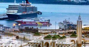 صورة رائعة لميناء طنجة