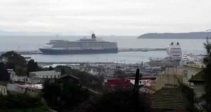 السفن السياحية الكبرى تواصل التوافد على مدينة طنجة