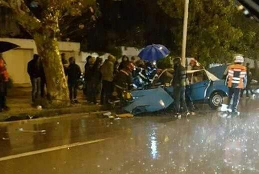 حادث سير بتطوان: أربعة ركاب بسيارة طاكسي يتعرضون لإصابات متفاوتة الخطورة
