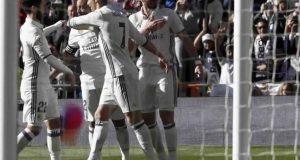 ريال مدريد يتنزه أمام غرناطة بتسجيله لخماسية