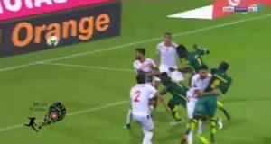 أهداف مباراة تونس ضد السنغال