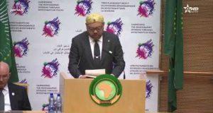 خطاب الملك محمد السادس أمام الاتحاد الإفريقي