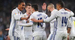 ريال مدريد يعود لسكة الإنتصارات أمام سوسيداد ويوسع الفارق عن مطارديه