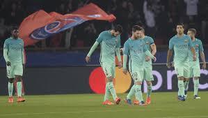 """أرقام صادمة لفريق برشلونة في """"مهزلة"""" باريس"""