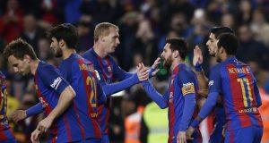 برشلونة يجد صعوبة بالغة في هزم فريق ضعيف لم يذق طعم الفوز منذ 12 جولة