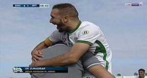 الأهداف الخمسة في مباراة الدفاع الجديدي واتحاد طنجة
